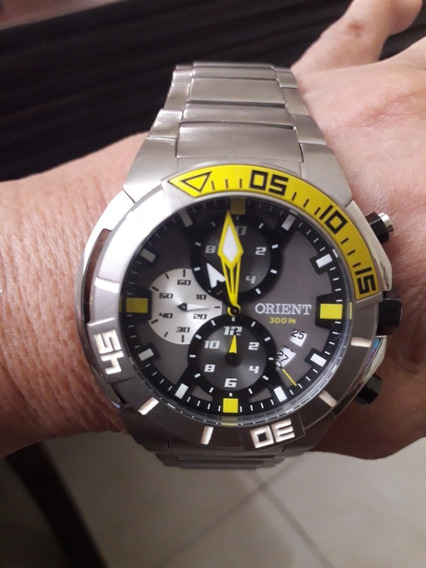 Lindo Relógio Orient Modelo Mbttc 003 Masculino..