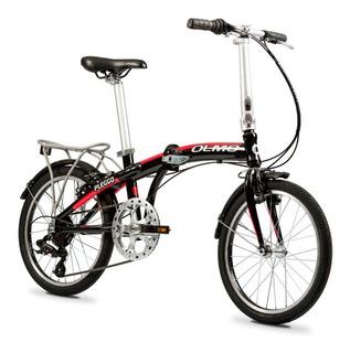 Bicicleta Plegable Olmo Pleggo Full R 20 Shimano 7 Vel Alum