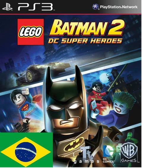 Lego Batman 2 Dc Super Heroes Psn Ps3 Pt-br