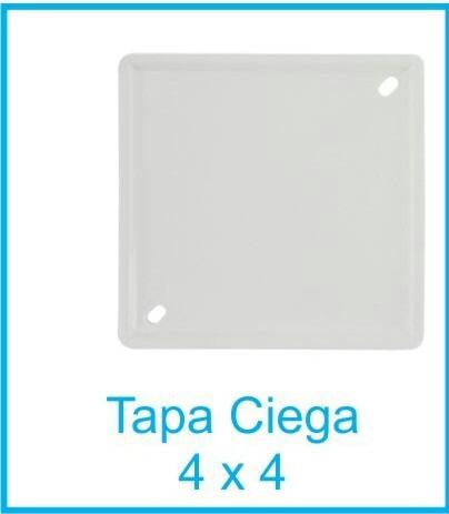 Tapa Ciega Cuadrada 4x4 Tubrica , Conduit