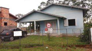 Casa Com 3 Dormitórios À Venda, 148 M² Por R$ 170.000 - Vila Beatriz - Maracajá/santa Catarina - Ca1223