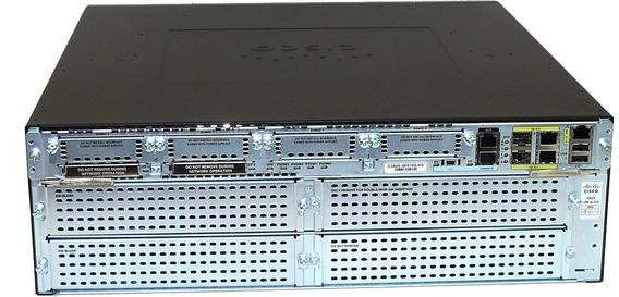 Cisco 3925 - Spe100/k9 - Zero Cx Envio Imediato É Vapt-vulpt