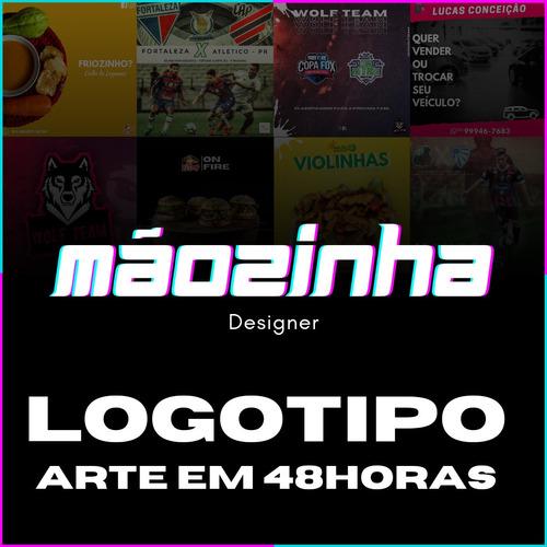 Imagem 1 de 5 de Criação De Logo, Post, Mídias Sociais, Etc... 48horas!