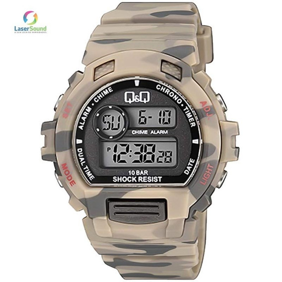 Relógio Q&q By Japan Masculino M153j010y Com Garantia E Nf