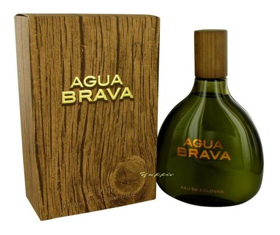 Perfume Importado Agua Brava Antonio Puig Eau De Cologne 500ml Original - Envio Rápido Compre Agora!