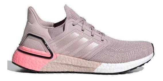 Tênis Running adidas Feminino Ultraboost 20 Eg0725 Rosê