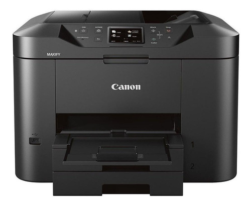 Impressora a cor multifuncional Canon Maxify MB2710 com wifi 100V/220V preta