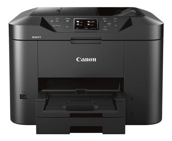 Impressora a cor multifuncional Canon Maxify MB2710 com Wi-Fi 100V/220V preta
