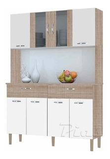 Mueble Modular Aparador Kit De Cocina Comedor! Organizador! Alacena Y Bajo Mesada! Nuevo Modelo!