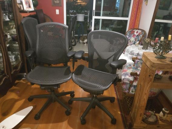 Cadeira Herman Miller Aeron (tam B) De 6.390,00 Por 3.680,00
