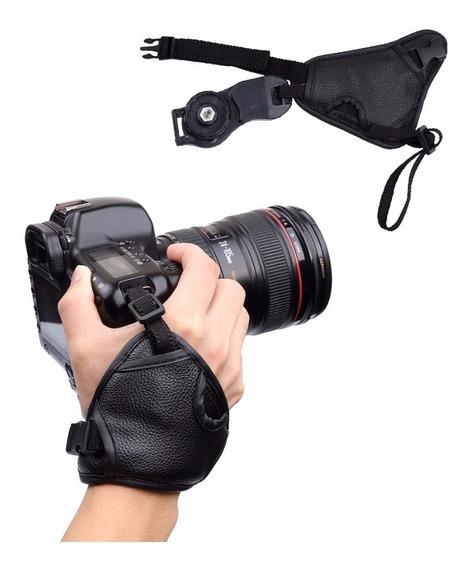 Alça Strap Correia De Mão Dslr 3 Pontos Canon, Nikon
