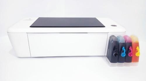 Impresora Hp 1115 Con Sistema De Tinta Continua Instalado