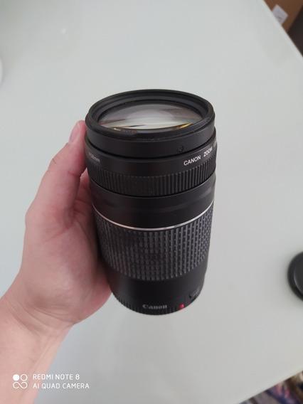 Lente 75-300 Canon