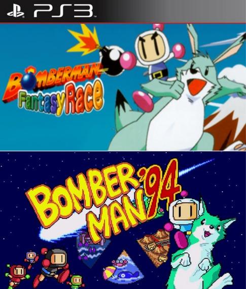 Bomberman Fantasy Race E Bomberman 94 Ps3 Psn 2 Em 1