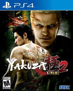 Yakuza Kiwami 2 Ps4 Nuevo Fisico Sellado Envio Gratis