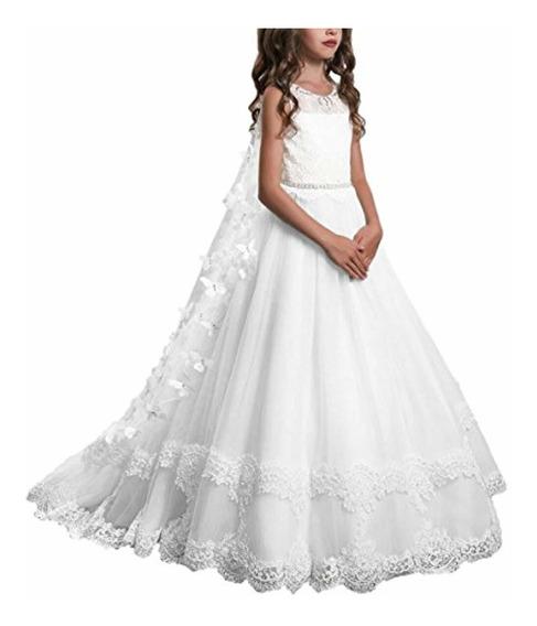 Brand: Plwedding Encaje Flor Niñas Vestidos