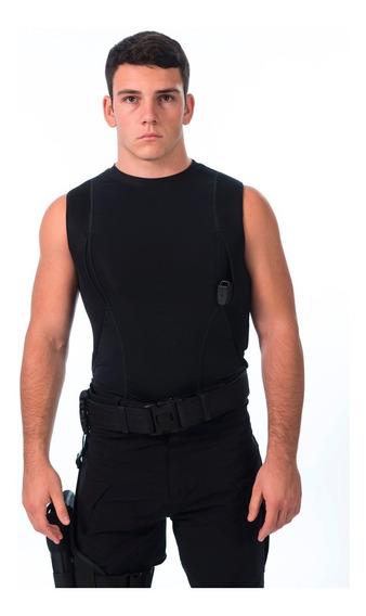 Musculosa Tactica Spy Cover Cop Portaarmas Sobaquera Hombre