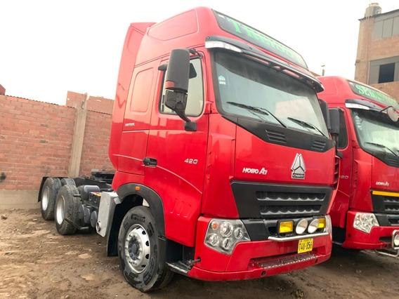 Tracto Howo A7 420hp= Volvo Recibo Vehiculo 35,000 Dolares