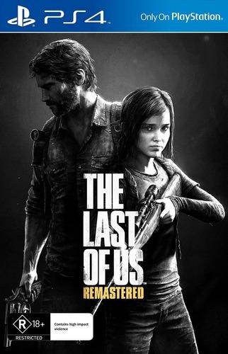 The Last Of Us Remastered Ps4 Fisico Sellado Nuevo Original