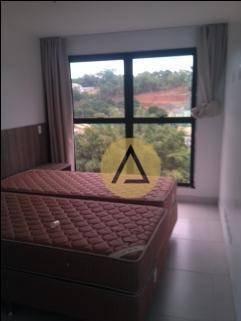 Flat Com 1 Dormitório Para Alugar, 40 M² Por R$ 1.200/mês - Granja Dos Cavaleiros - Macaé/rj - Fl0039