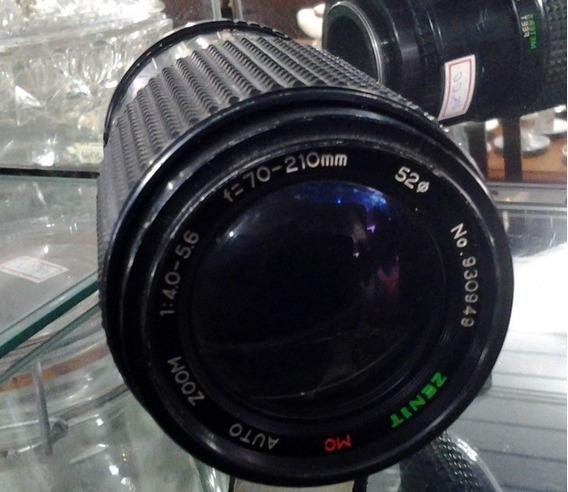 Lente Zenit Mc Auto Zoom 1:4.0 - 5.6 F=70-210mm 52