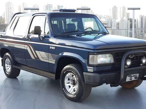 Chevrolet D20 4.0 Custom S Cd 8v Diesel 2p Manual