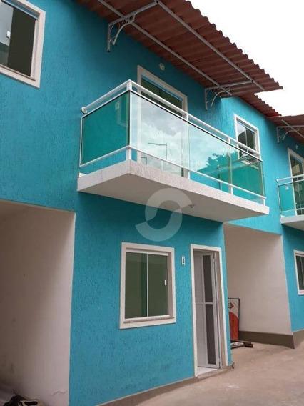 Casa Residencial À Venda, Camarão, São Gonçalo. - Ca1237