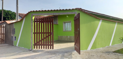 Casa Nova Com Suíte Em Mongaguá R$ 165 Mil