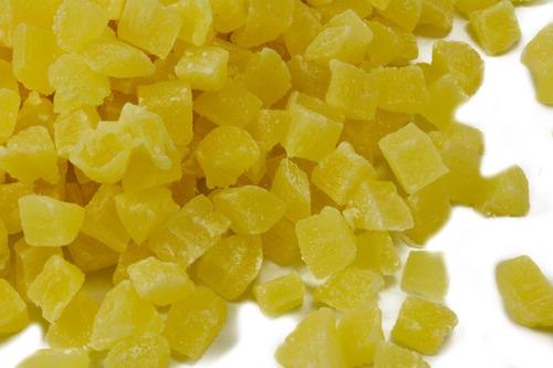 Imagen 1 de 7 de Piña Cubos Deshidratada  1kg
