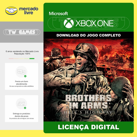 Brothers In Arms Hell Highway Digital Retro Xbox One