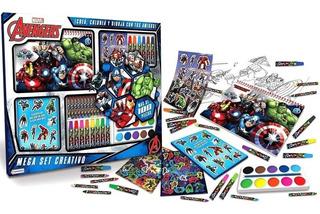 Avengers Mega Set Actividades Didactico Cod 03427 Bigshop