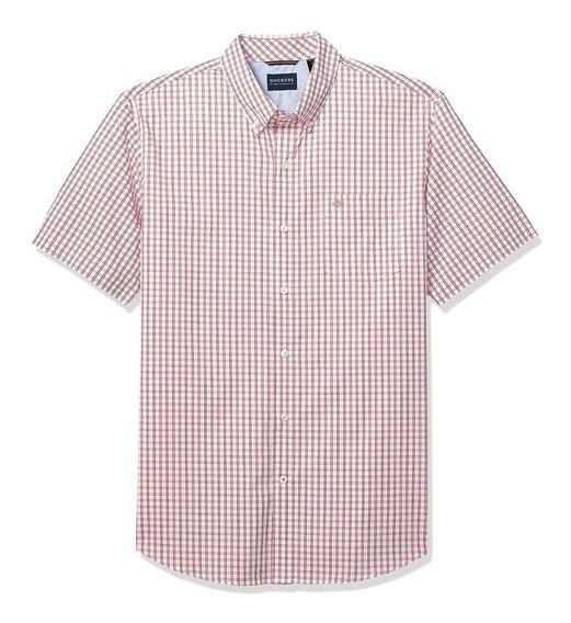 Dockers - Camisa Manga Corta Para Hombre