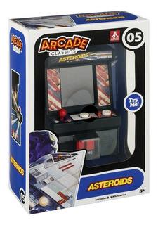 Mini Consola Arcade Classics Juego Asteroids De Atari Nuevo