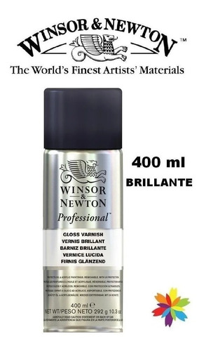 Barniz Brillante Winsor & Newton Aerosol 400 Ml