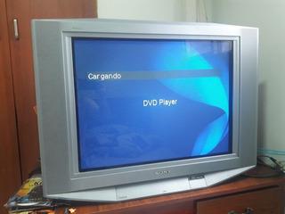 Vendo Televisor Sony Trinitron Wega De 29 Pulgadas Color Gri