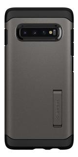 Funda Spigen Samsung S10 Plus Tough Armor Case Genuina