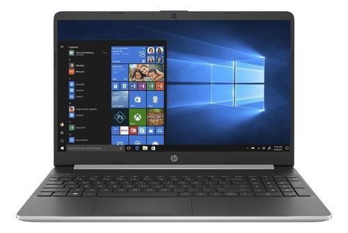 "Notebook HP 15-DY1051WM plata 15.6"", Intel Core i5 1035G1  8GB de RAM 256GB SSD, Intel UHD Graphics 1366x768px Windows 10 Home"