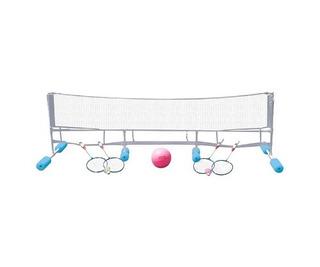 Poolmaster Super Combo Juego De Voleibol De Agua / Badminton