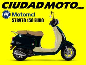 Motomel Strato 150cc Euro - Scooter / En Ciudad Moto