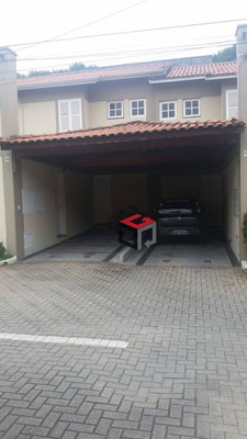 Sobrado Em Condomínio Fechado - Bairro Demarch - São Bernardo Do Campo. - So22784