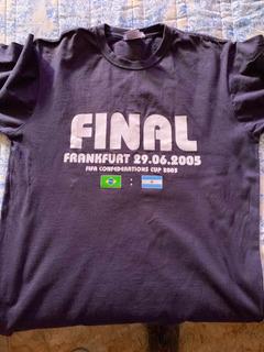 Camisa M Colecionador Final Copa Das Confederações 2005