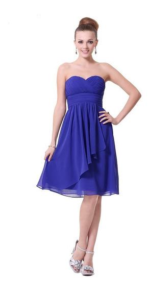 Vestido Strapless Corto4 2xl Importado