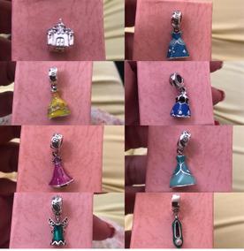 Berloque Princesas Disney Pandora Bracelete