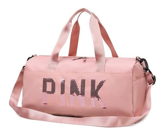 Bolso Pink Victorias Secret Sport/gym/viaje/deportivo/ Rosa