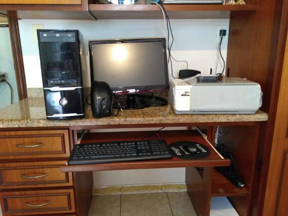 Computador Completo + Impressora Hp