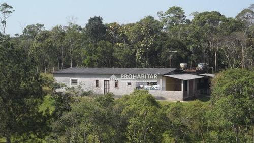 Chácara Com 3 Dormitórios À Venda, 5600 M² Por R$ 260.000,00 - Parelheiros - São Paulo/sp - Ch0031