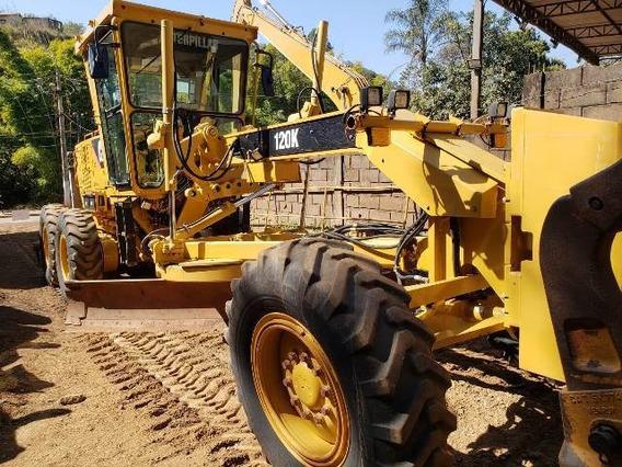 Motoniveladora Caterpillar 120 K Ano 2013 Horímetro : 3.29