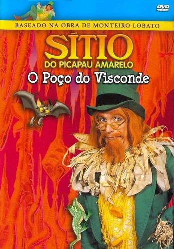 Dvd Sítio Do Picapau Amarelo - O Poço Do Visconde
