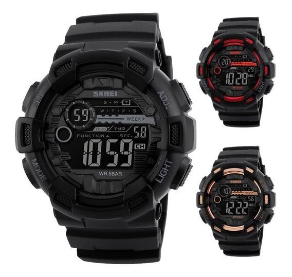 Reloj Militar Sport Navy Seal Colores Sumergible 1243 Skmei