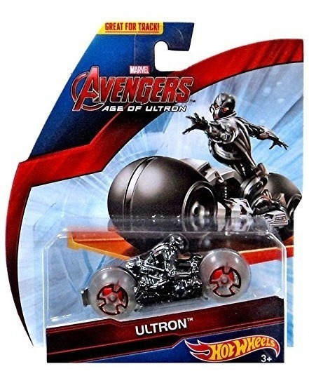 Auto Moto Hot Wheels Ultron Avengers Series Coleccion Rdf1